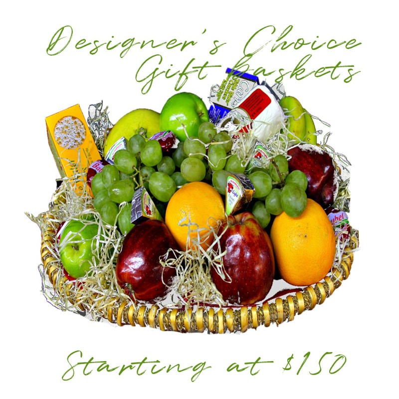 Designer\'s Choice Gourmet Baskets Starting at