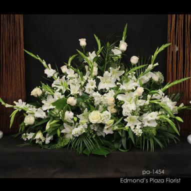 Sympathy Podium Arrangements